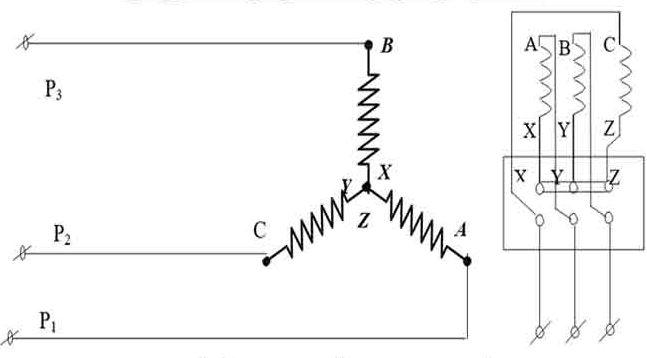 Cách mắc Motor 3 Pha hình sao