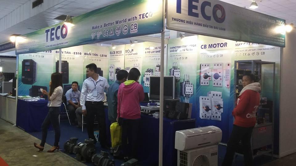Gian hàng Motor TECO Việt Nam