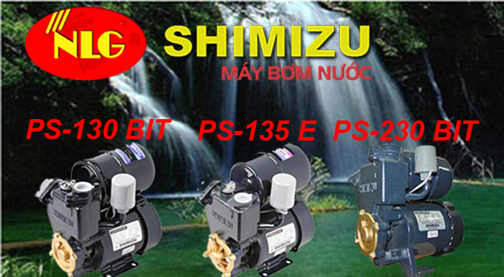 Máy bơm nước tăng áp Shimizu