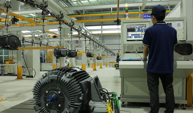 Motor TECO được kiểm tra nghiêm ngặt trước khi xuất xưởng