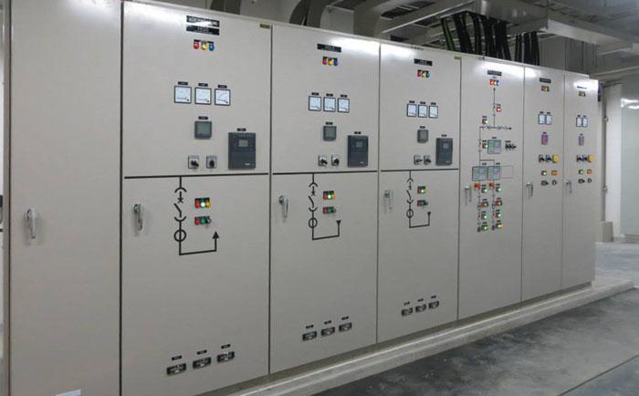 Tủ điện phân phối được sản xuất bởi TECO